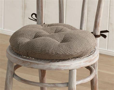 galettes de chaises rondes galette de chaise importez des couleurs dans votre