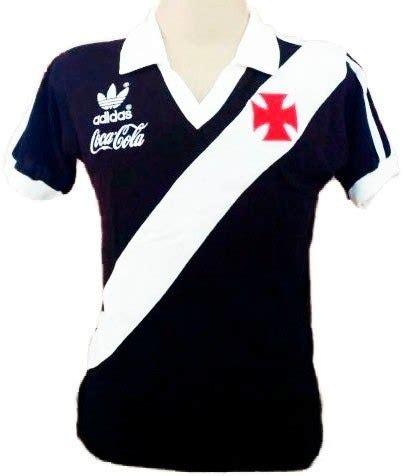 vasco coca camisa vintage retr 244 vasco gama 1987 coca cola blusa preta