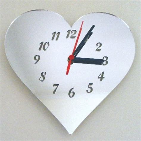themes heart clock 17 beautiful and unique heart shape gifts for women