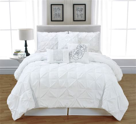 comforter sets white white bed in a bag lookup beforebuying