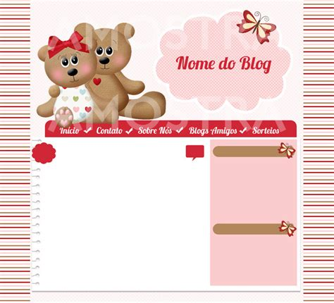 layout para blog gratuito layout para blog capa facebook logo elo7