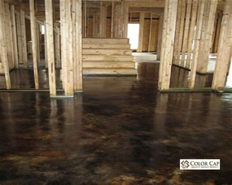 How To Finish Concrete Floors Interior by Stained Concrete Concrete Floors And Acid Stained