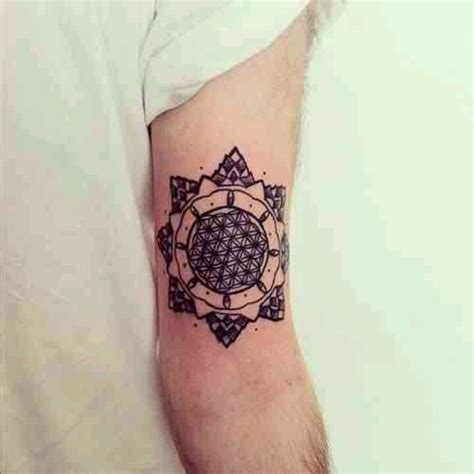 mandala tattoo new jersey flower of life tattoos pinterest of life