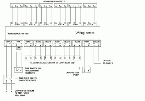 wiring diagram for electric underfloor heating 46 wiring