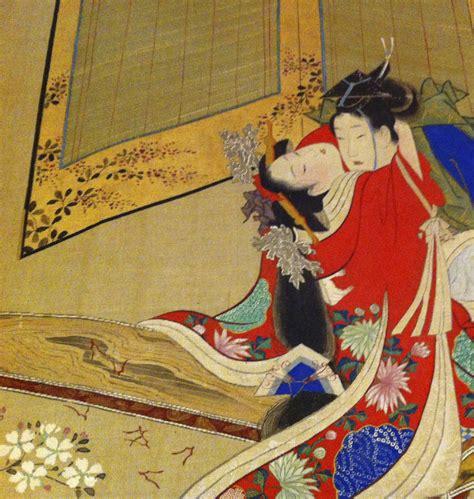japan painting show shunga japanese exposed indifferentreflections
