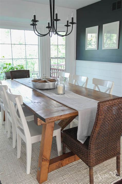 Diy Dining Room Table Makeover by Farmhouse Table And Dining Room Makeover Hometalk