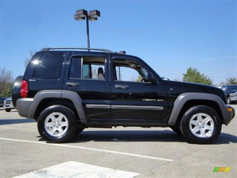 black jeep liberty 2002 2002 black jeep liberty sport 4x4 27440632 photo 2