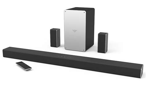 Home Bar System The New Vizio Smartcast Sound Bar System Has Chromecast