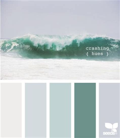 peaceful colors 11 peaceful paint palettes inspired by the seababycenter