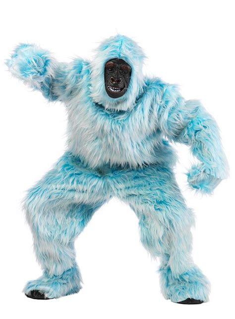 light blue costumes light blue gorilla costume