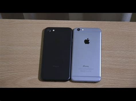 Apple iPhone 7 vs iPhone 6 iOS 10   Speed Test!   YouTube