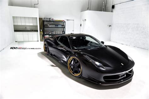G Ferrari Bronze by Gallery Ferrari 458 Italia On Black And Bronze Adv 1