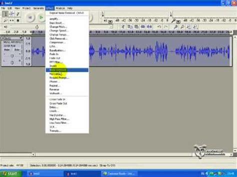 tutorial youtube audacity audacity tutorial part four voice editing in audacity