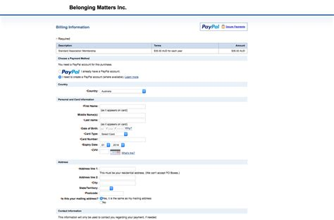 Jotform Credit Card Paypal Checkout How To Pay By Credit Card Jotform