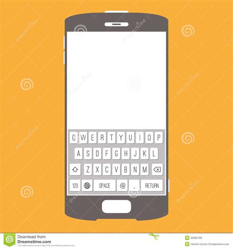 keypad for cell phone themes smartphone touchscreen keypad royalty free stock images