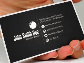 what to include in business card 15 sleek exles of black business cards black business