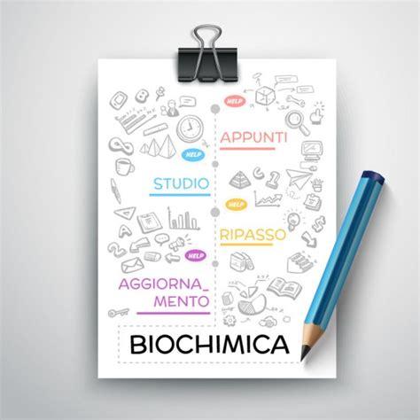 dispense biochimica biochimica riassunto