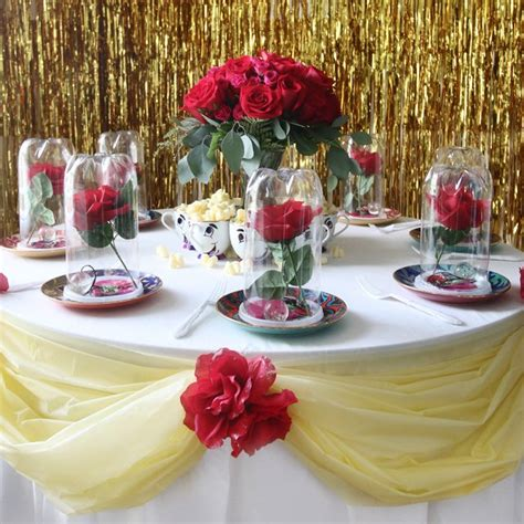 decoracion la bella y la bestia la bella y la bestia ideas para inspirarte en tu boda