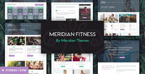 themeforest fitness themeforest meridian fitness fitness gym wordpress