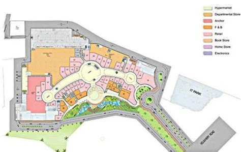 Mall Bangalore Floor Plan by Market City Chennai Velachery Shopping Malls In