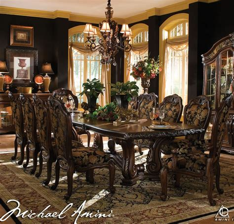aico dining room set dining room furniture by aico