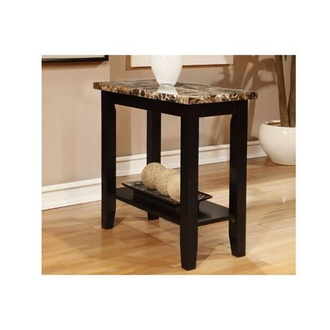 marble top end table ornate accent table with carved black hardwood marble top end table