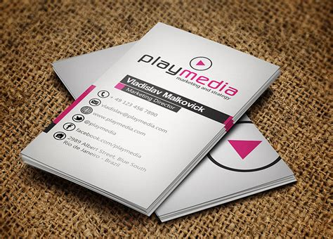 awesome business card templates cool business card template by jorge limaz cardrabbit