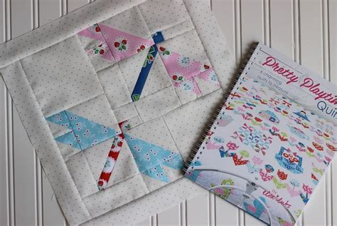 Dragonfly Quilt Shop by Pretty Playtime Quilts Dragonfly Block Simple Handmade Everyday