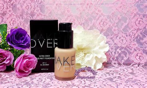 Dan Review Foundation Makeover sponsored review make liquid matt foundation pink