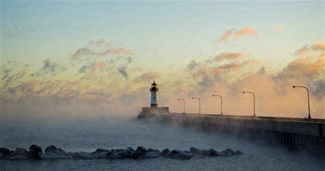 lake superior sea smoke duluth voted outside magazine s best outdoors town