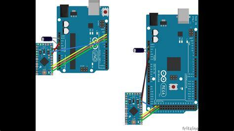 programando arduino pro mini  arduino mega ou uno youtube