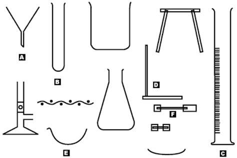 sectional diagram laboratory apparatus quick quiz