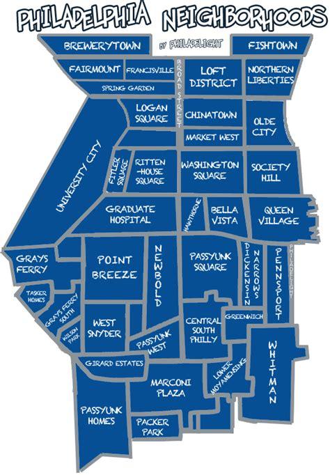 philadelphia neighborhood map philadelphia neighborhood map philadelight