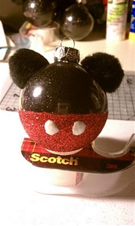 diy mickey mouse christmas decorations diy mickey mouse ornament my diy tips