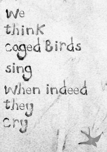 Caged Bird Sings Quotes. QuotesGram
