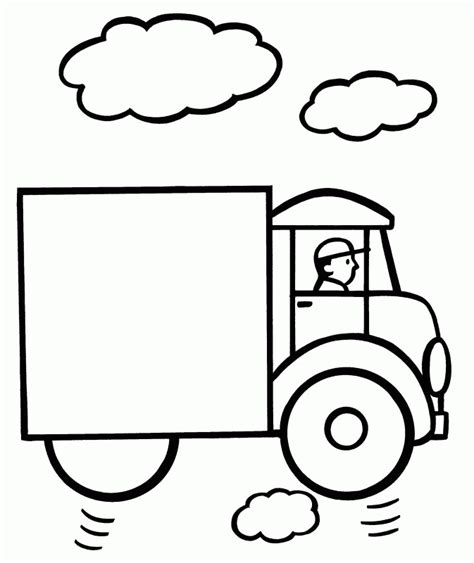 Kindergarten Coloring Pages Easy Coloring Home Simple Coloring Pages For Preschoolers