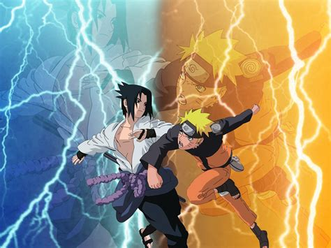 wallpaper bergerak naruto vs sasuke naruto shippuden sasuke vs naruto hd wallpaper