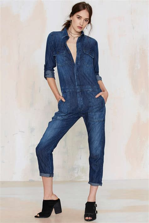 Fox Denim Overall Romper denim jumpsuits for summer 2018 become chic