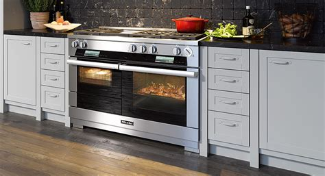 Electric Kitchen Stoves With Double Ovens