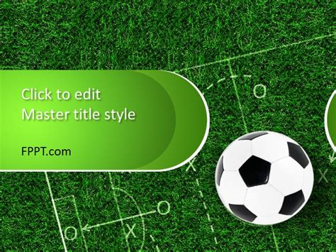 football themed powerpoint 2007 soccer ppt