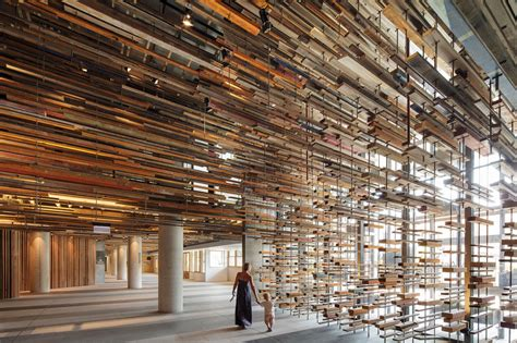 wooden skyscrapers a roundup of stunning entryway of the nishi building includes a