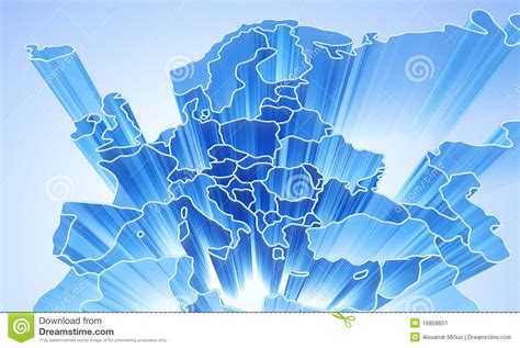abstract european pattern europe abstract 3d background stock illustration image