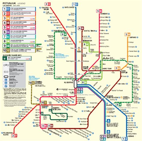 Lrt Monorail Ktm Map Image Gallery Kl Lrt Map Pdf