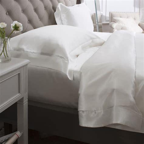 silk bed linen uk buy ivory silk 4pcs duvet cover set in uk silk