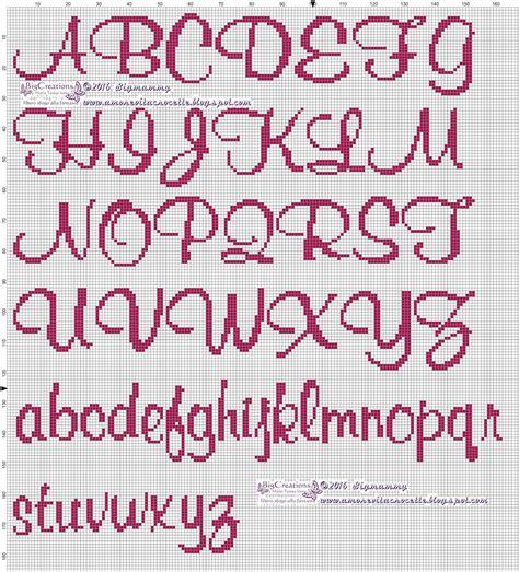punto a croce lettere amorevitacrocette vari alfabeti a punto croce