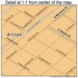 map of dillon dillon montana map 3020800