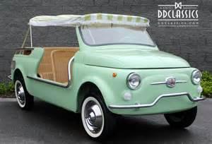 Mint Green Fiat 500 For Sale Fiat 500 Giardiniera Jolly Lhd