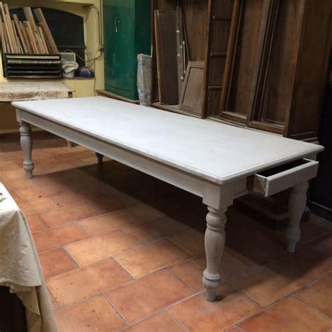 tavoli da osteria tavolo da osteria costruito a mano in abete color grigio