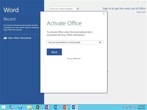 Office 365 Activation by Deploying Office 365 On Remote Desktop Server Cogenesis