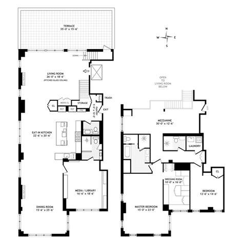 Alexis Floor Plan by Alexis Stewart Keeps It Clean In Tribeca Variety